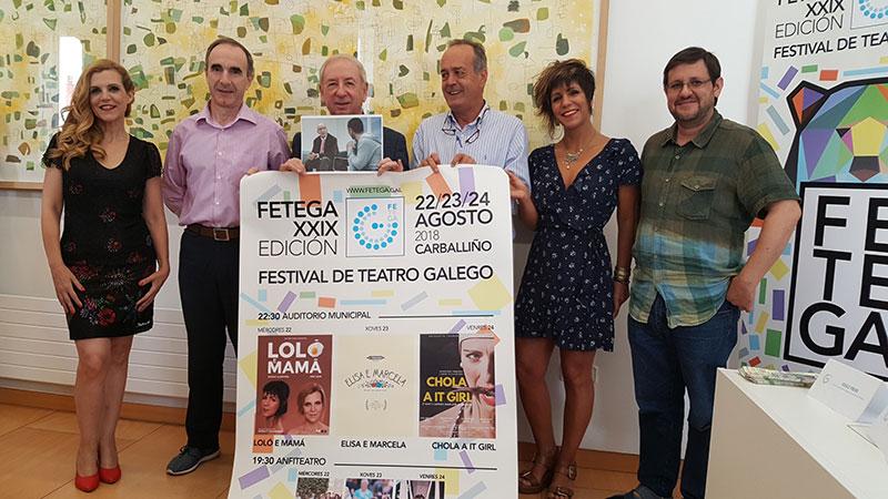 PRESENTANDO O 29º FETEGA -FESTIVAL DE TEATRO GALEGO- EN OURENSE